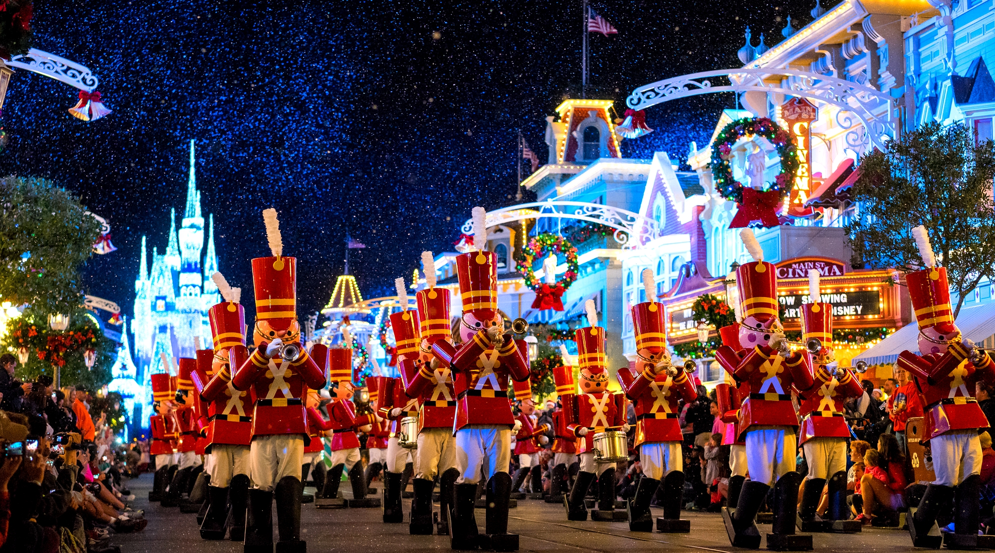christmas at disney world celebrate holidays at disney - Christmas In Disney