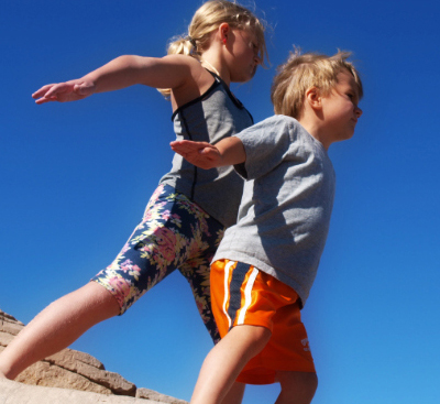 4 Kid-Friendly Yoga Poses to Help Your Family Destress on Vacation