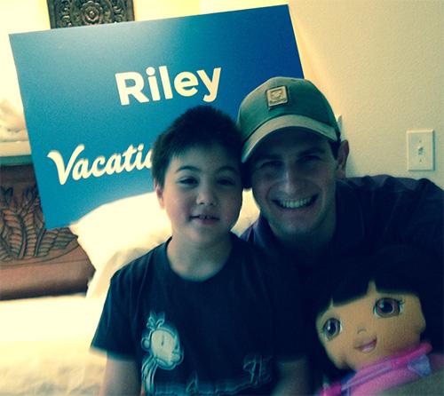 Make-a-Wish: Riley and Dora the Explorer