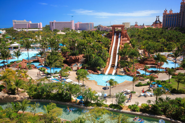 Atlantis Resort Lazy River Slide