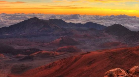 Haleakala Volcano Summit: Sunrise