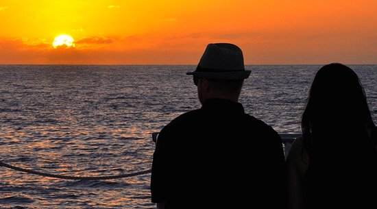 Sunset on Maui Beach