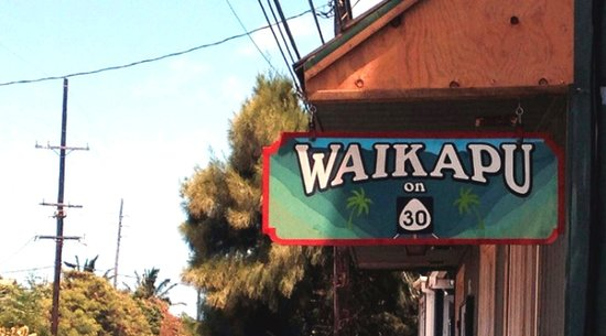 Waikapu on 30: Quick Maui Restaurant Lunch Spot
