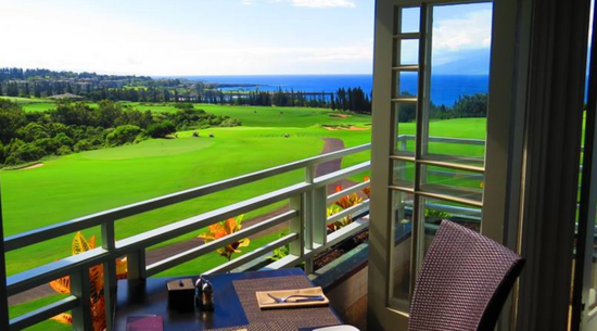 Platation House: Maui restaurant with fantastic view
