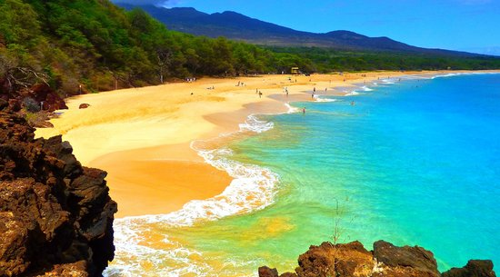 Big Beach in Maui