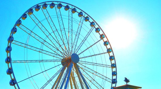 Myrtle Beach SkyWheel: Amusement Park Ride