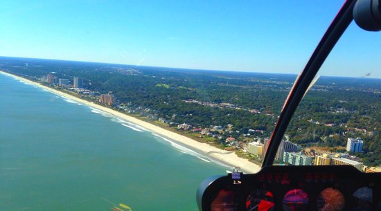 OceanFront Helicopters: Best View in Myrtle Beach!