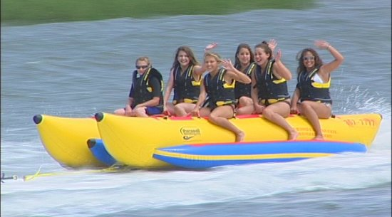 Banana Boating: Myrtle Beach Watersport