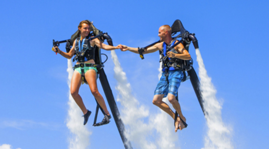 Jetpacks & Flyboarding: Myrtle Beach Watersport