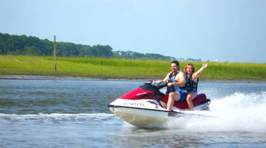 Jetskiing: Myrtle Beach Watersport