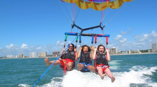 Parasailing: Myrtle Beach Watersport