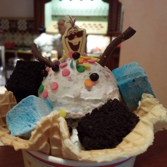 Olaf's Perfect Sundae Day, Disney World Ice Cream