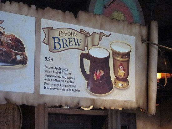LeFou's Brew Disney World Fake Beer Drink