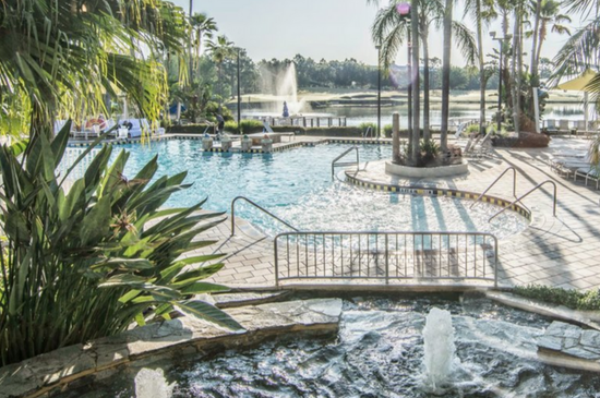 Marriott's Cypress Harbour Pool