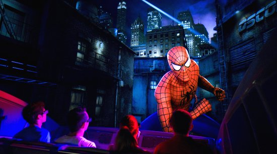 Amazing Adventures of Spider Man: Universal Studios Ride