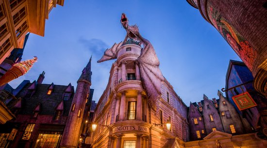 Harry Potter and the Escape from Gringotts: Universal Studios Ride