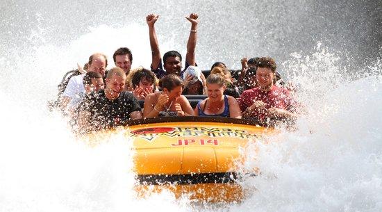 Jurassic Park River Adventure: Universal Studios Ride