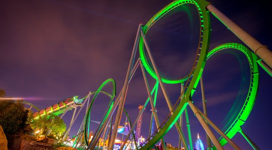 The Incredible Hulk: Islands of Adventure Rides