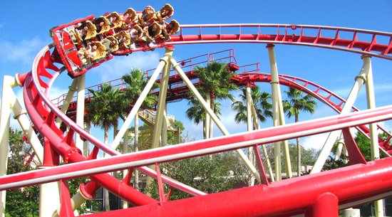 Hollywood Rip Ride Rockit: Universal Studios Ride