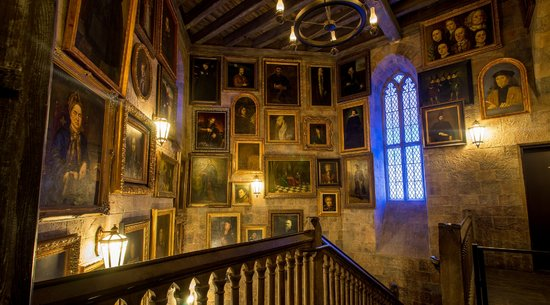 Inside Hogwarts Castle at Universal Studios Florida