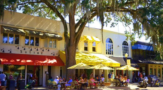 Orlando Family Vacation Guide: Cafes in downtown Winter Park