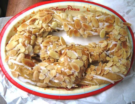 Almond Pretzel at Kringla Bakeri Og Kafe