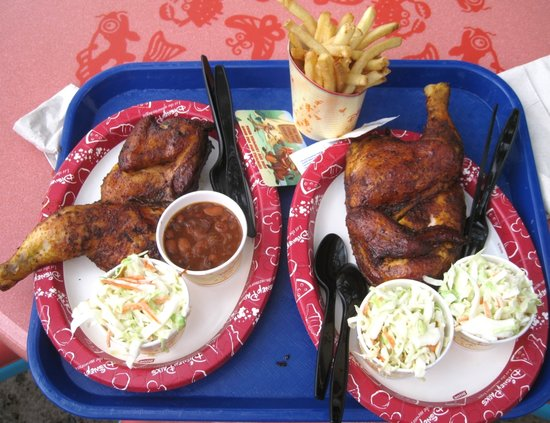 Smoked Chicken at Flame Tree Barbeque