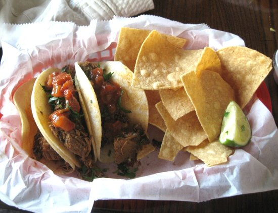 Beef Tacos at Cantina de San Angel in Epcot