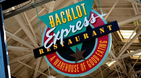 Entranc to Backlot Express, Hollywood Studios Restaurant