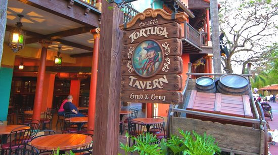 Tortuga Tavern: Magic Kingdom Restaurant
