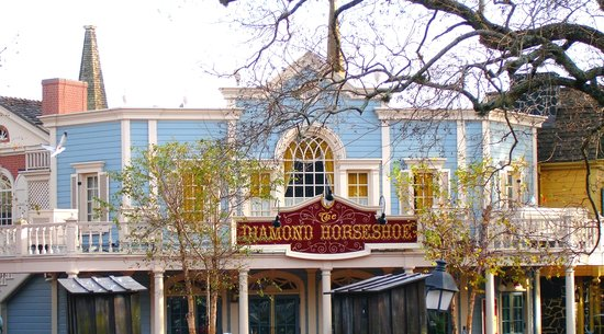 The Diamond Horseshoe: Magic Kingdom Restaurant