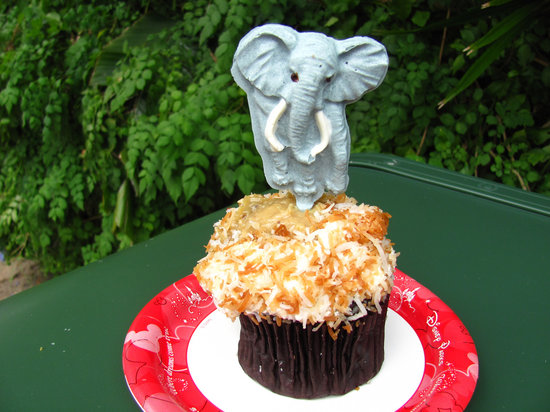 Elephant Cupcake at Kusafiri Coffee Shop & Bakery