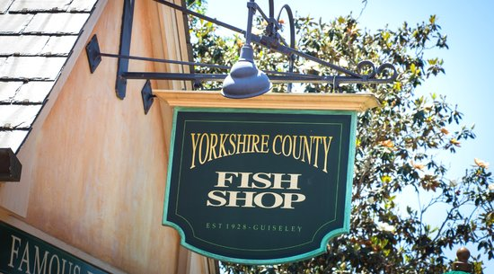 Yorkshire County Fish Shop: UK Pavilion Restaurant