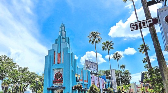 Hollywood Boulevard in Hollywood Studios, Disney World