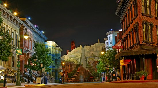 View of San Francisco in Streets of America, Hollywood Studios