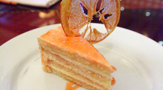 Famous Grapefruit Cake at Hollywood Brown Derby