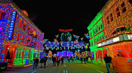Osborne Spectacle of Dancing Lights: Disney World Holidays