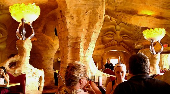 Cave at Mythos Restaurant: Universal Studios Florida