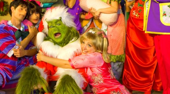 The Grinch at Grinchmas in Universal Studios Florida