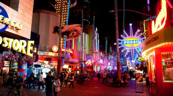 Universal Studios Florida: CityWalk at Night