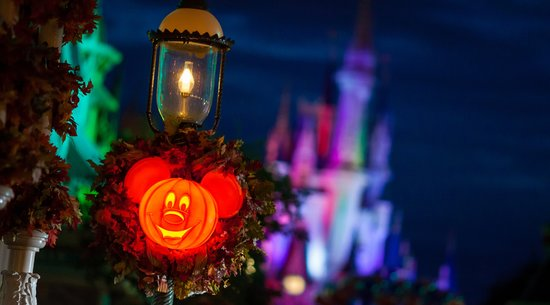 Mickey's Not So Scary Halloween Jack-o-Lantern