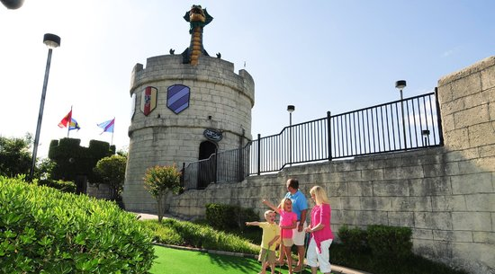Dragon's Lair Fantasy Golf at Broadway at the Beach