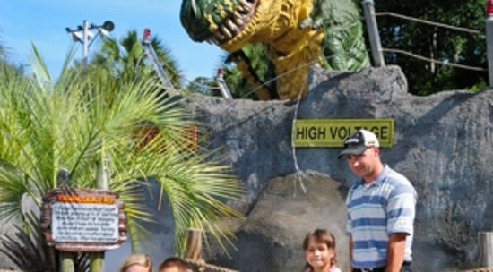 Jurassic Mini Golf in Myrtle Beach