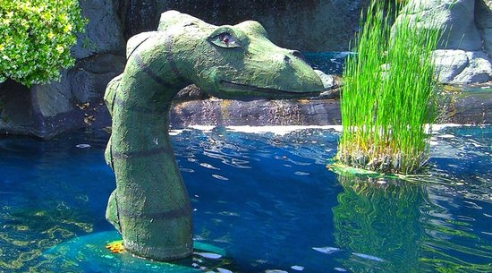 Loch Ness Monster at Mt. Atlanticus Miniature Golf