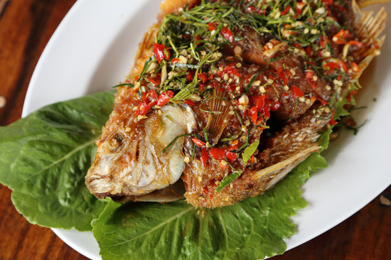 Grilled snapper: Maui fish recipe