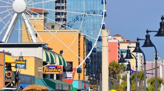 Myrtle Beach Boardwalk: Myrtle Beach Attractions