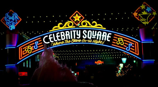 Celebrity Square at Broadway at the Beach