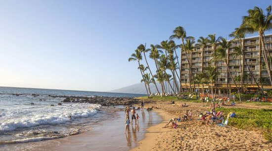 Beach at Mana Kai: Kihei Resorts