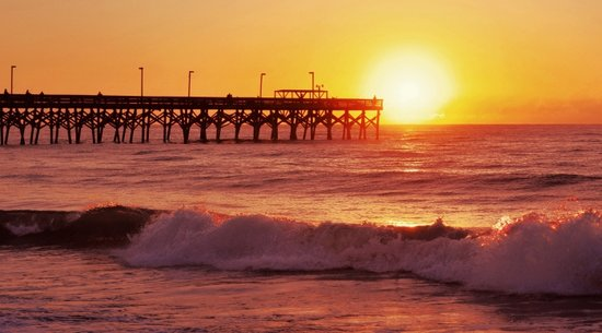 Surfside Beach Pier: Myrtle Beach Fall