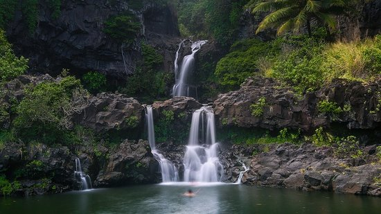 Seven Sacred Pools Maui Waterfalls